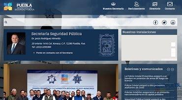 ¡CONOCE MÁS DE LA SSP PUEBLA!