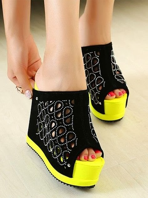 Fashion Style Fish Mouth Sandals Shoes