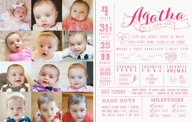 First Year Baby Book