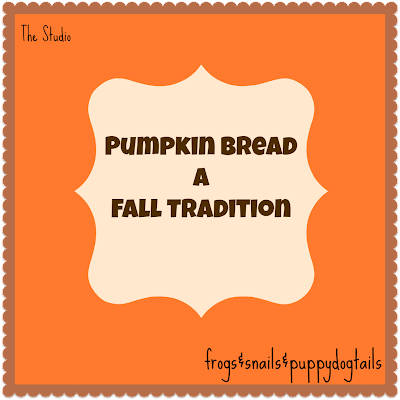 Pumpkin Bread a Fall Tradition