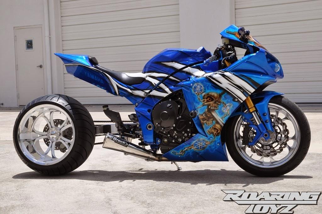 See Best Style Yamaha R1 Blue Warrior