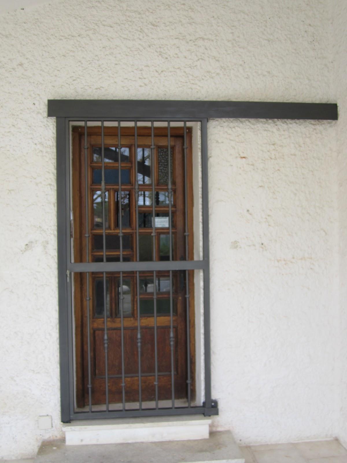 Norbel carpinteria met lica y acero inoxidable puerta - Puertas vivienda ...