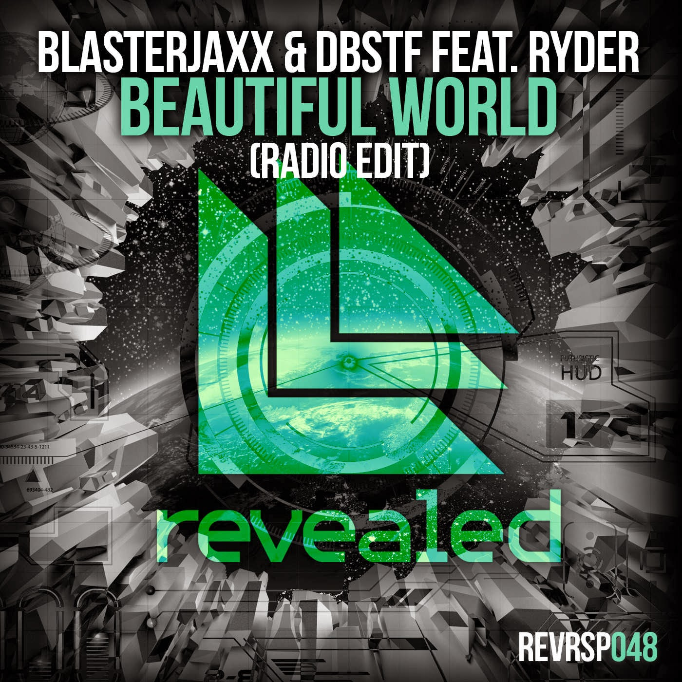 BlasterJaxx & DBSTF - Beautiful World (feat. Ryder) [Radio Edit] - Single Cover