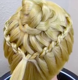 Super Cute Flower Girl Hairstyles! - The Braided Flower Corsage Hairstyle Tutorial