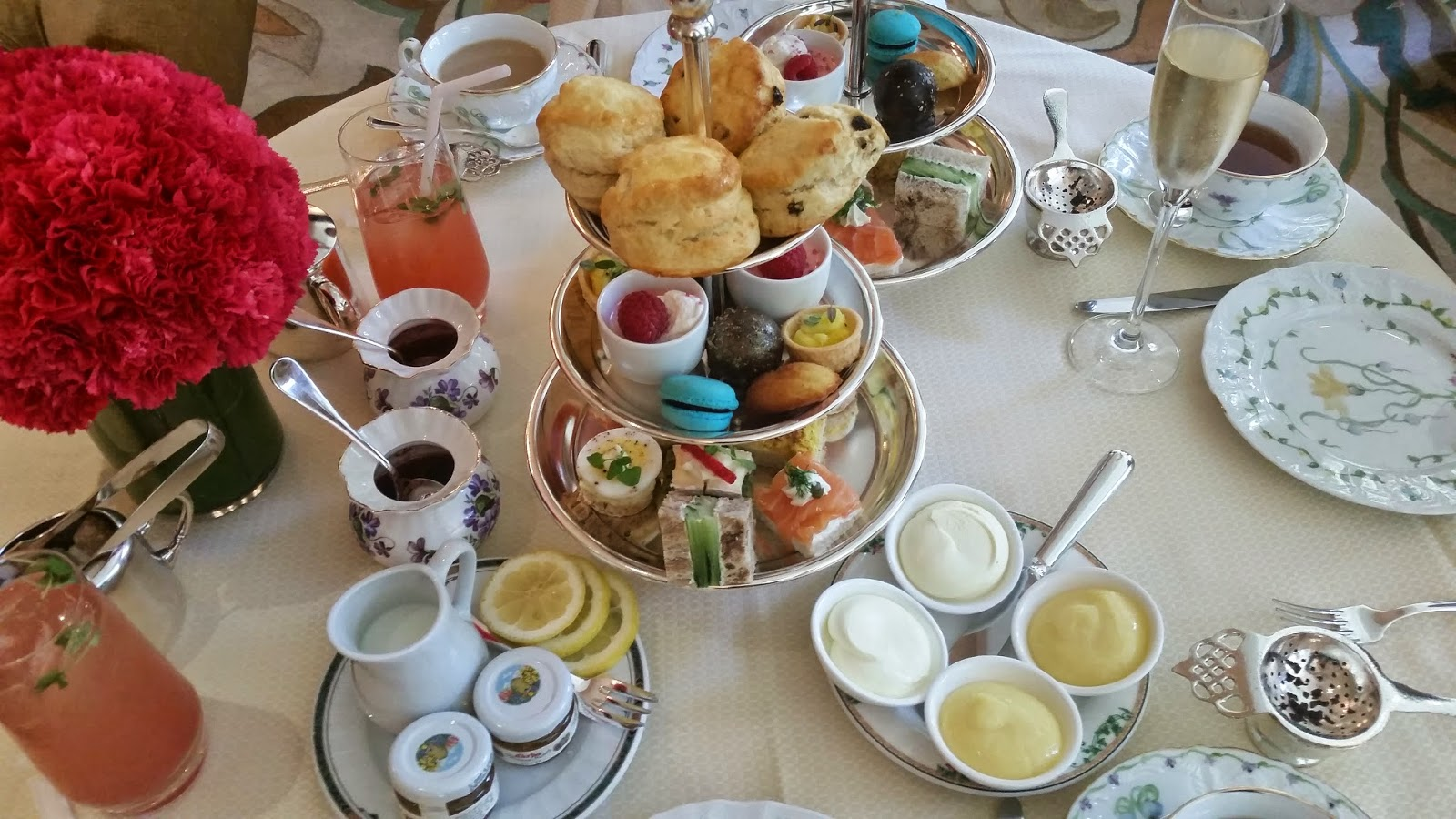 Perfect Traditional Afternoon Tea At The Living Room Part 6