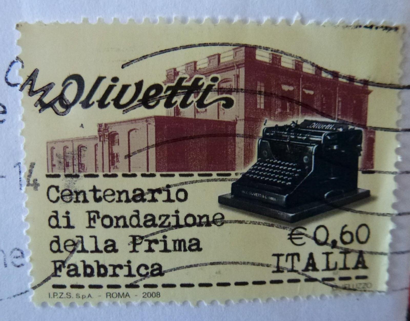 Fabbrica Olivetti centenario fondazione