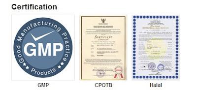 Menghilangkan Bau Mulut sertifikat
