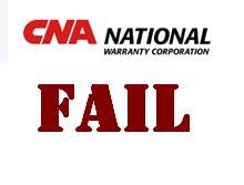 Cna National Warranty >> Cna Fail