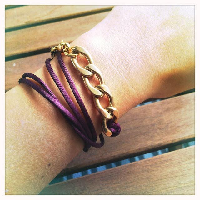 DIY Das mach ich selber! DIY goldenes Armband