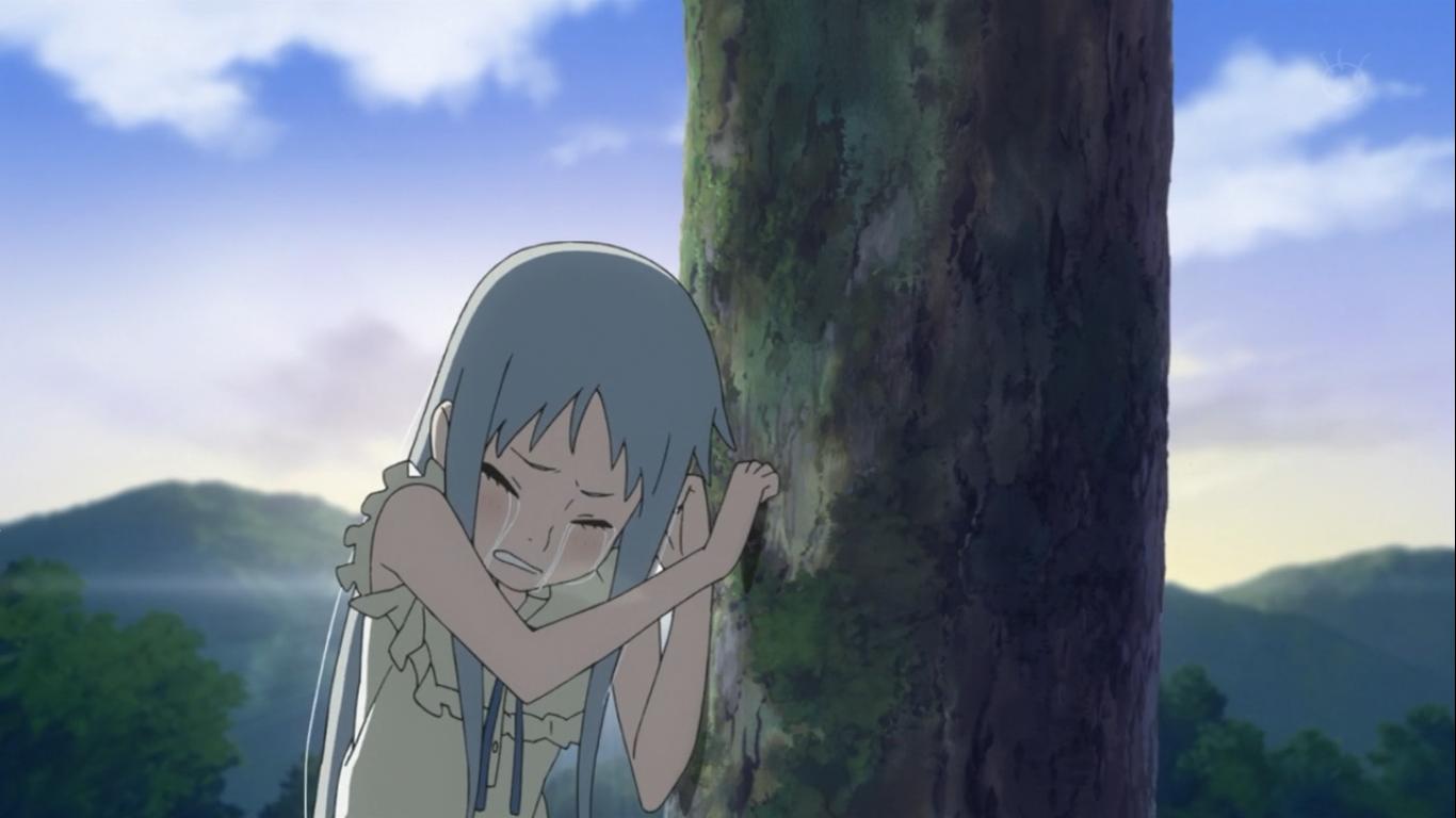 Фото из аниме невиданный цветок