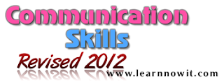 REVISED 2012 Communication Skills Mumbai University