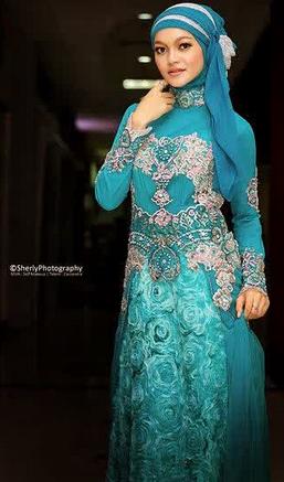 Koleksi Kebaya Muslim untuk Pernikahan