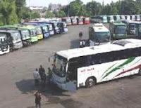 Ratusan Bus Mudik