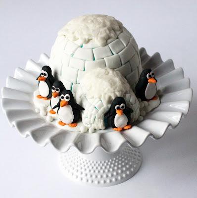 Image Result For Penguin Birthday Cake