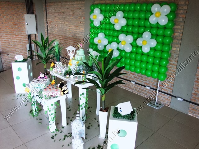 decoração de festa infantil tematica