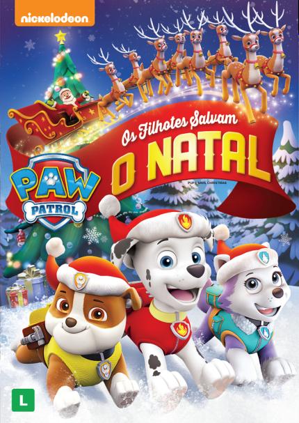 Paw Patrol Os Filhotes Salvam o Natal 2017 Dublado