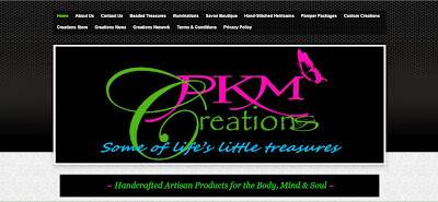PKM Creations Website