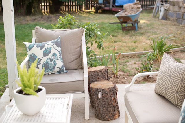Backyard Patio Styling