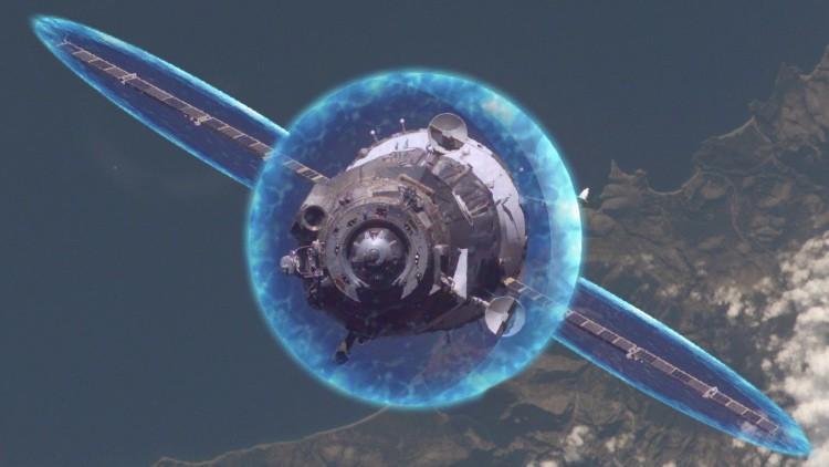 Escudo protector para las naves interplanetarias.