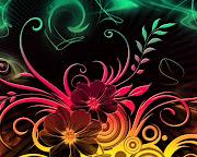 Imagens de Fundo: Imagem de Fundodesenho de flores em várias cores (desenho de flores em varias cores imagens imagem de fundo wallpaper para pc computador tela gratis ambiente de trabalho)