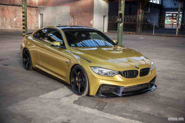 Cận cảnh xe BMW M4 phiên bản tinh chỉnh