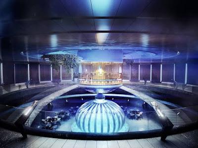 underwater inside