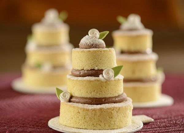 Mini Naked Cakes | Bodas