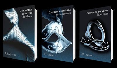 Trilogía de la saga 50 Sombras de Grey