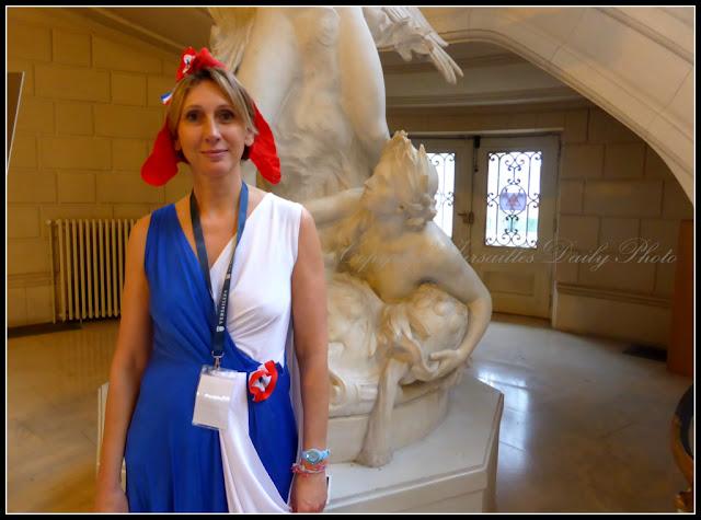 Marianne Hôtel de Ville Versailles Histoire de Lire