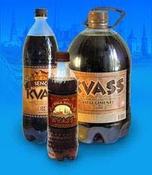 Você já bebeu Kvas ?