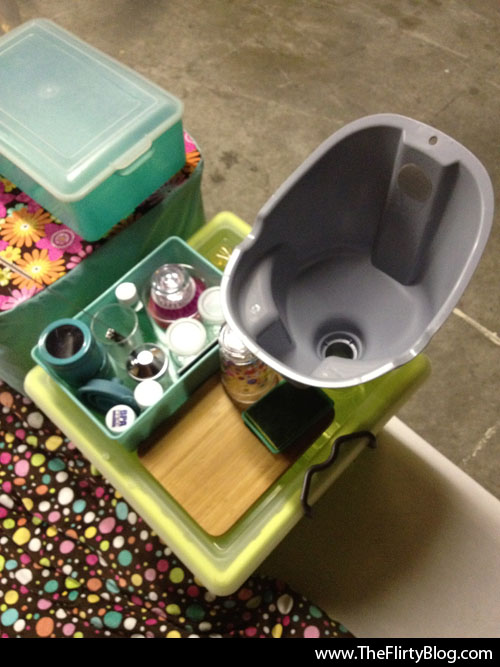 I Found The Place (Formerly The Flirty Blog): A tiny DIY Shower ...