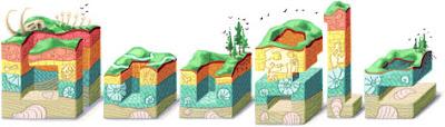 Google Doodle Nicolas Steno's 374th Birthday