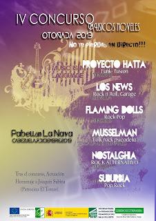 IV Concurso de Músicos Noveles. Valle del Jerte. Otoñada 2013