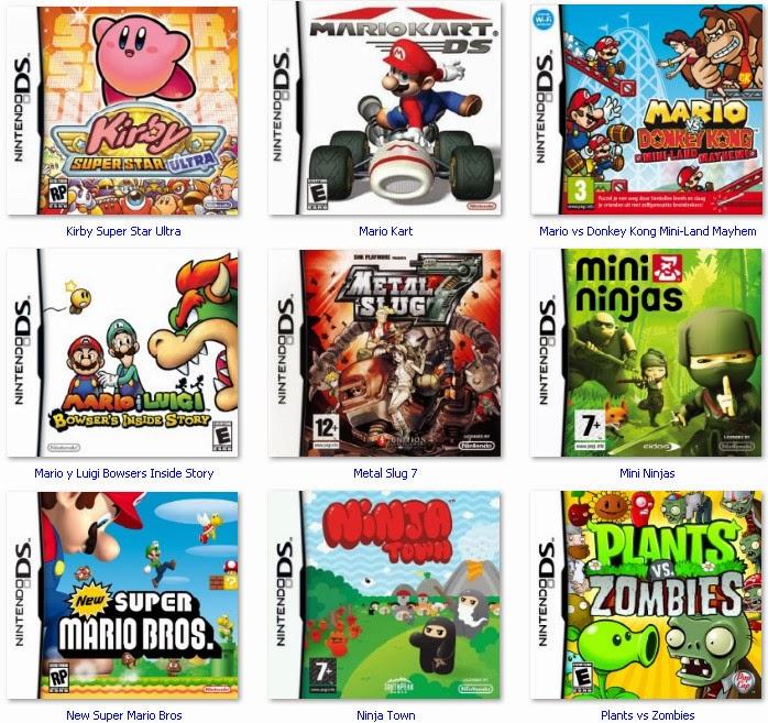 Más de 50 Juegos de DS en español   Zippyshare - Identi