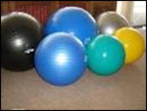 Escogiendo su balón de ejercicios para Yoga