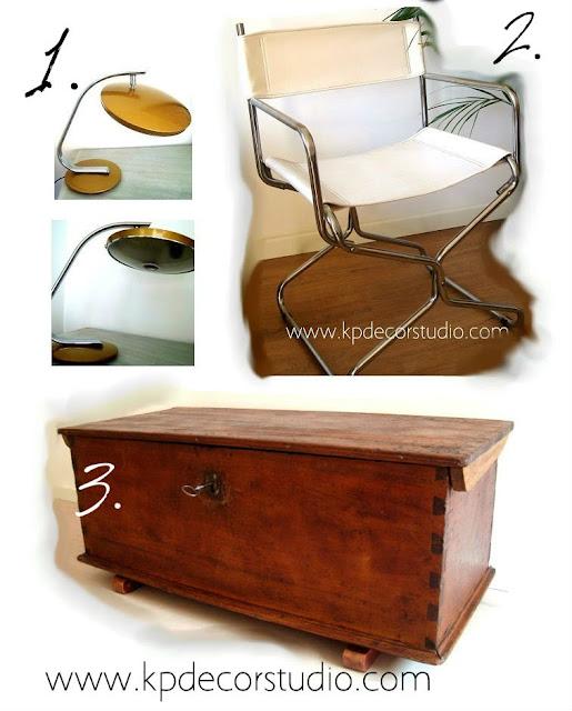 decorar con vintage y comprar online muebles antiguos