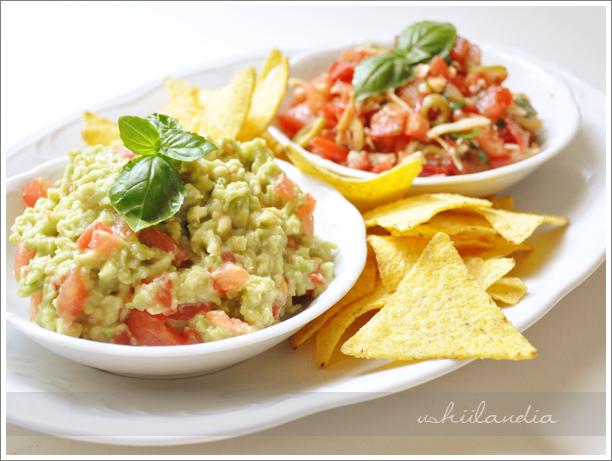 guacamole, salsa