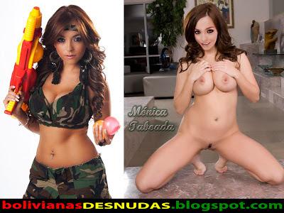 M Nica Taboada Posando Desnuda Y Sey