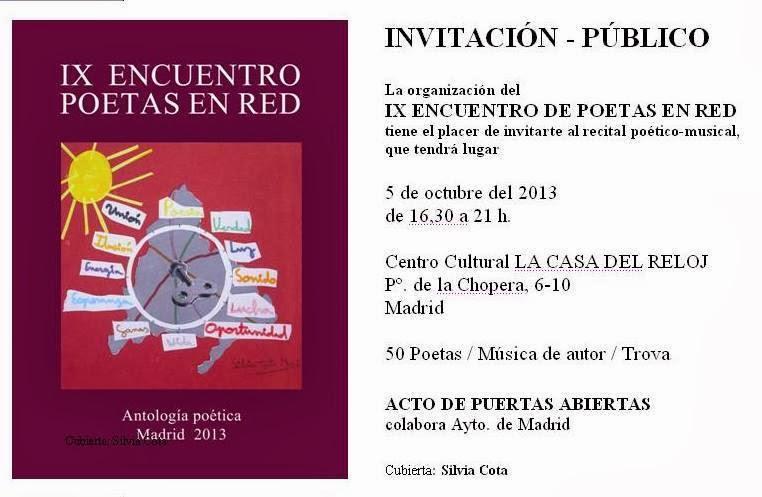 Antología IX Encuentro Poetas en Red