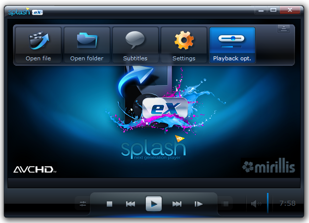 Free Download Splash Pro Ex Player 1.13.0 Full Version + Serial | The Best Sharing Only 4 You