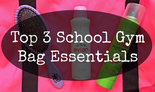 Top 3 School Gym Bag Essentials