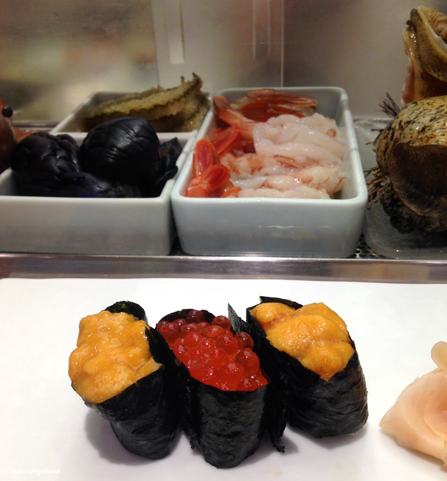 Sea Urchin and Salmon Roe