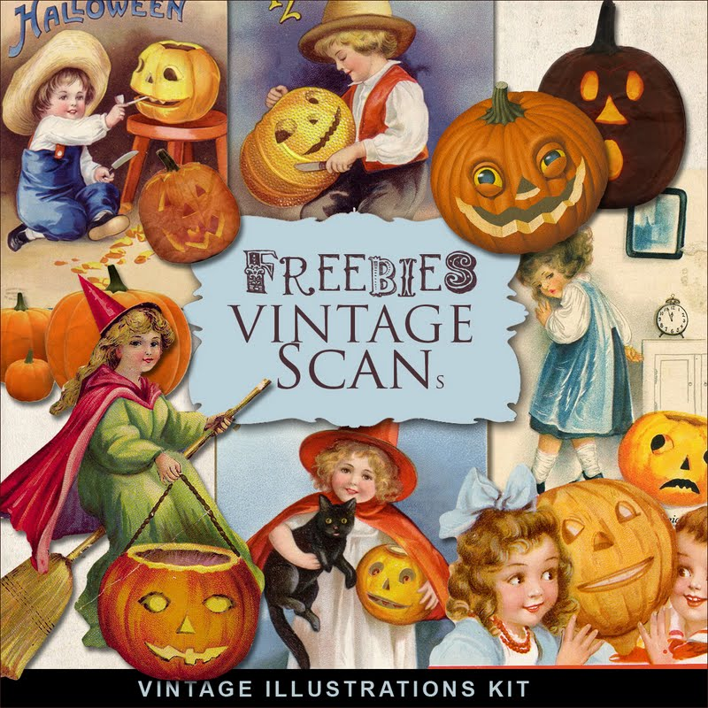 New Freebies Vintage Illustrations Kit Far Far Hill Free