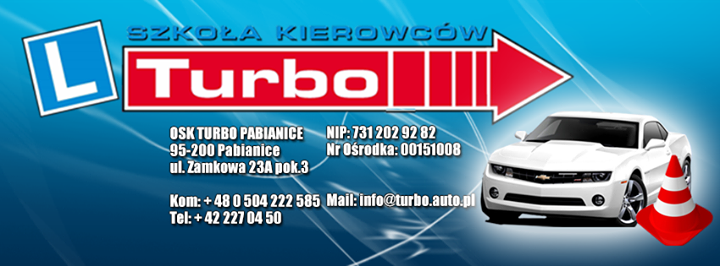 """Szkoła Kierowców """"Turbo"""""""