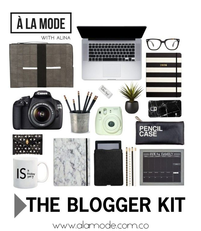 blogger kit, invest in your blog, what a blogger needs