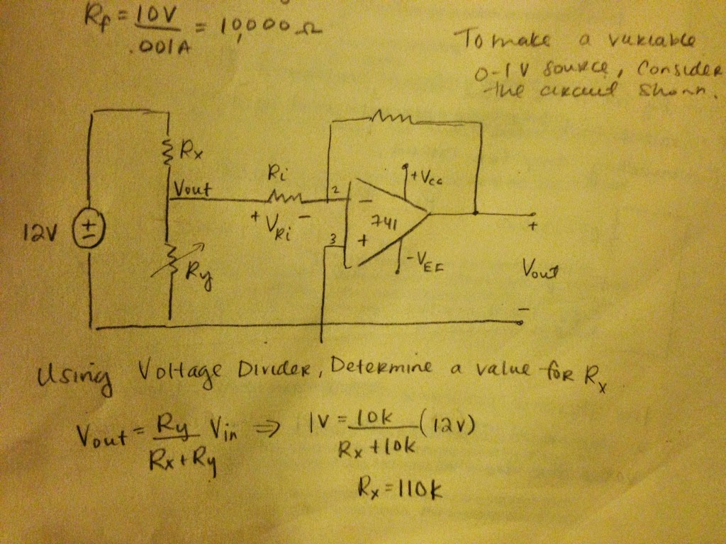 Operational Amplifiers I Engineering 44 Rdiaz Op Amp Inverting Amplifier Circuit If We Want Rx To Operate At Half Its Rated Power With The Disconnected From Voltage Divider