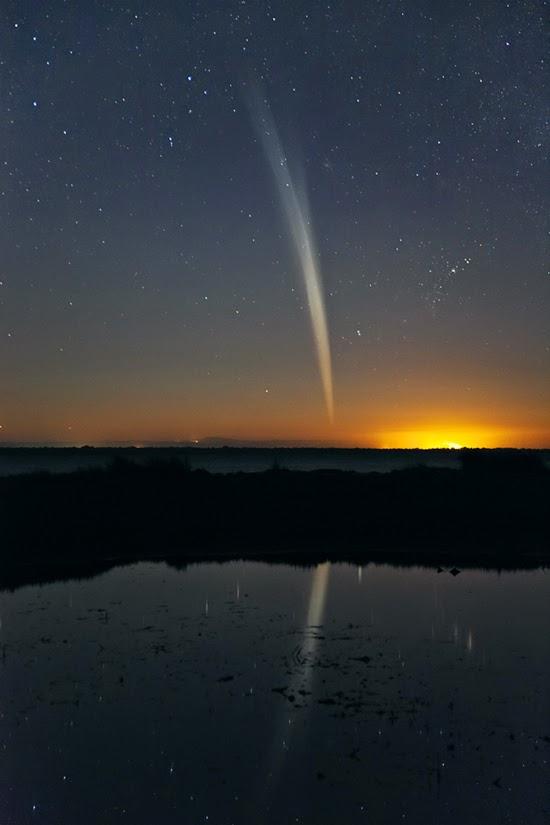 C_Legg_Comet_Lovejoy_21Dec2011 - Sự khác biệt giữa sao chổi và tiểu hành tinh là gì?