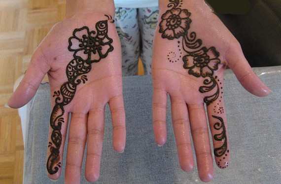 Mehndi For Girls Easy : Hd mehndi designs beautiful eid collection for girls best