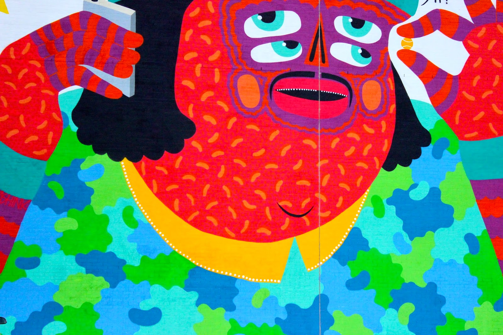 KASHINK street art mural festival fashion blog st laurent nightlife montreal bars