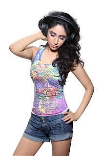 Hot Spicy Singer Neha Bhasin sexy stills